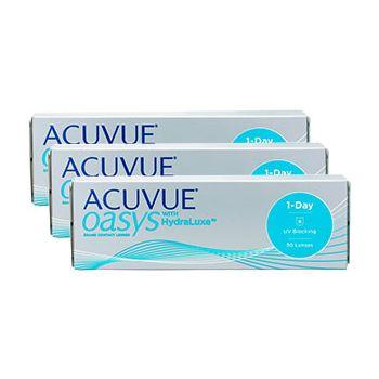 Купить Acuvue Oasys 1-Day with Hydraluxe Ауквью Оазис Гидралюкс