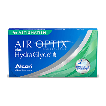 AirOptix plus HydraGlyde for Astigmatism