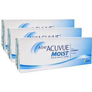Купить однодневные линзы Acuvue Moist (Акувью Моист)