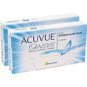 Купить линзы ACUVUE OASYS with HYDRACLEAR Plus|Акувью Оазис